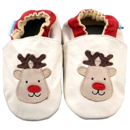 Δερμάτινα Παπουτσάκια Rudolf The Reindeer Minifeet