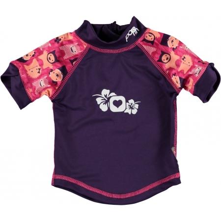 Αντιηλιακή Μπλούζα Με Ροζ Τερατάκια Close