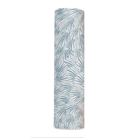 Βρεφική Μουσελίνα Από Μπαμπού Με Μπλε Πέταλα aden + anais®