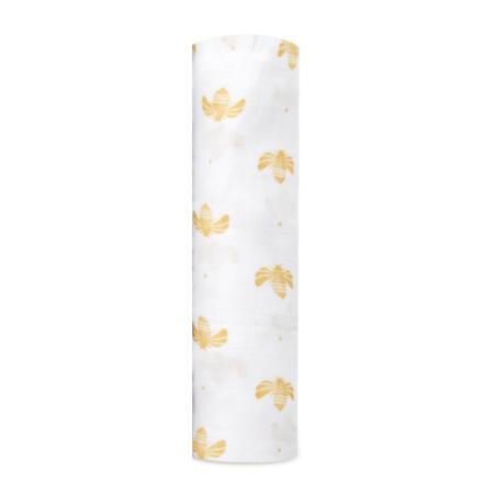 Βρεφική Μουσελίνα Από Μπαμπού Με Μέλισσες aden + anais®