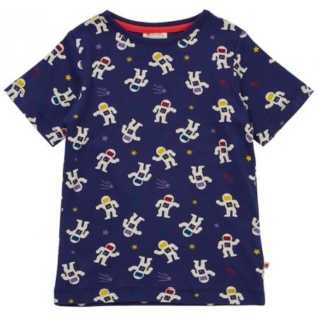 Κοντομάνικα Κοντομάνικη Μπλούζα Με Αστροναύτες Picalilly Piccalilly