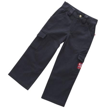 Παντελόνια Μπλε Παντελόνι Με Αγγλικό Λεωφορείο Piccalilly Piccalilly