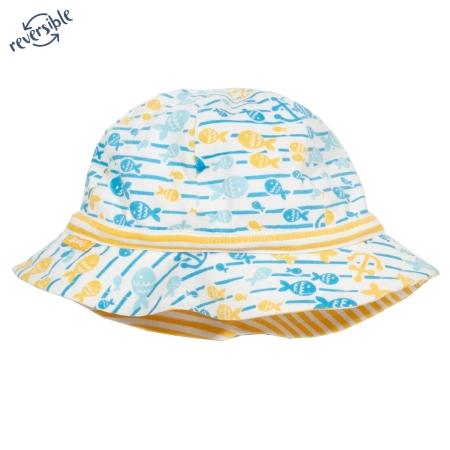 Καπέλο Διπλής Όψεως Με Ψαράκια Kite