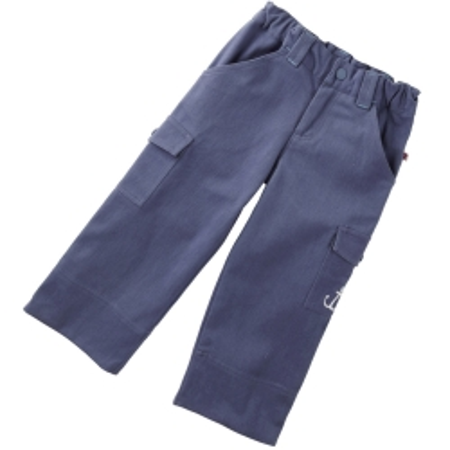 Παντελόνια Μπλε Παντελόνι Με Αγκυρα Piccalilly Piccalilly