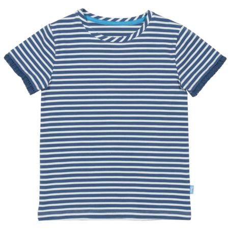 Μπλε Κοντομάνικη Μπλούζα Με Ρίγες Kite