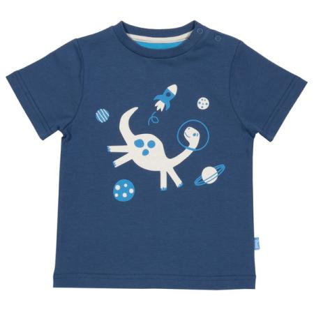 Κοντομάνικα Κοντομάνικη Μπλούζα Με Δεινόσαυρο Στο Διάστημα Kite Kite