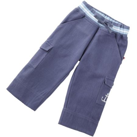 Μπλε Βρεφικό Παντελόνι Με Αγκυρα Piccalilly