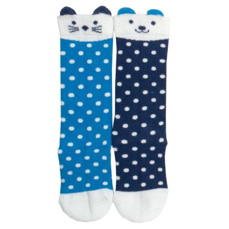 Καλσόν και Kάλτσες Πουά Καλτσάκια Με Γατάκια Και Σκυλάκια (2 ζευγάρια) Kite Kite