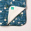 Κουβερτούλες Κουβέρτα Με Φεγγαράκια Και Γούνα Little Green Radicals Little Green Radicals