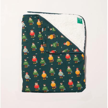 Κουβέρτα Με Σκανδιναβούς Φίλους Και Γούνα Little Green Radicals