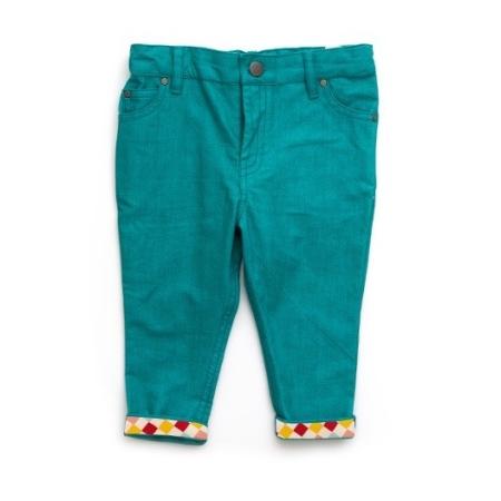Παντελόνια Πετρόλ παιδικό παντελόνι Little Green Radicals Little Green Radicals