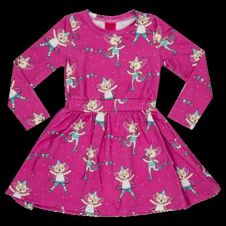 Φορέματα Ροζ Φόρεμα Με Γατούλες Raspberry Republic Raspberry Republic