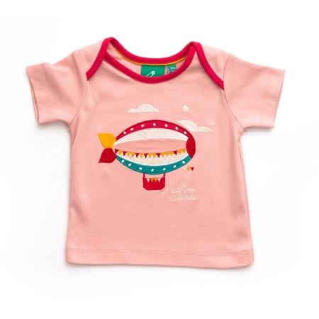 Ροζ Μπλούζα Με Ζέπελιν Little Green Radicals