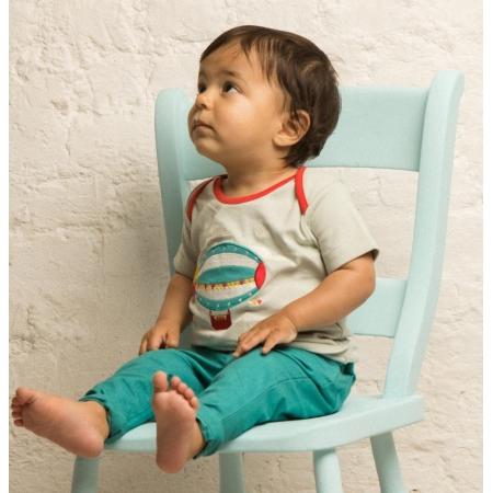 Κοντομάνικα Aqua Μπλούζα Με Ζέπελιν Little Green Radicals Little Green Radicals