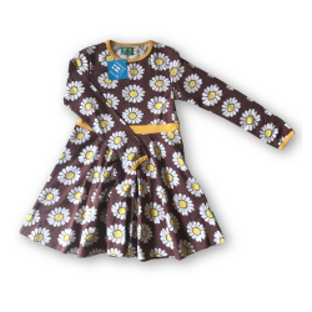 Μακρυμάνικο Φόρεμα Με Μαργαριτες Naperonuttu