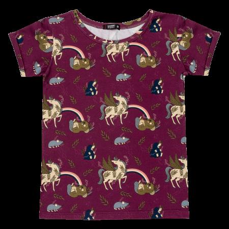 Ενηλικων Κοντομάνικη Μπλούζα Για Τη Μαμά Μονόκερος Raspberry Republic Raspberry Republic