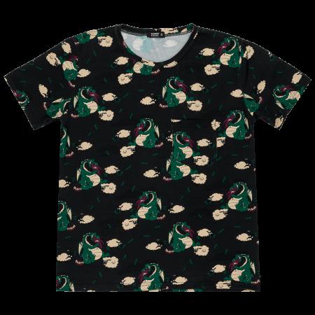 Κοντομάνικα Κοντομάνικη Μπλούζα Για Τον Μπαμπά Δράκος Raspberry Republic Raspberry Republic