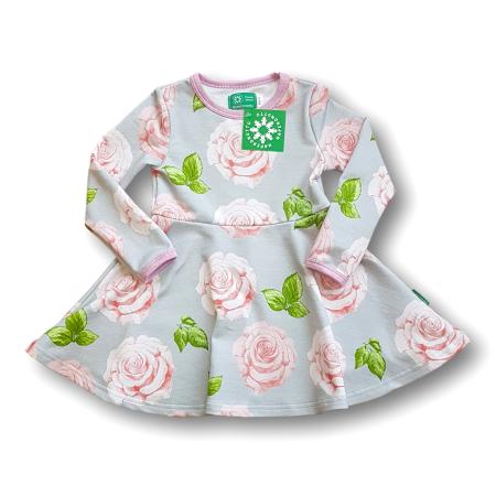 Φορέματα Μακρυμάνικο Φούτερ Φόρεμα Τριαντάφυλλα Naperonuttu Naperonuttu