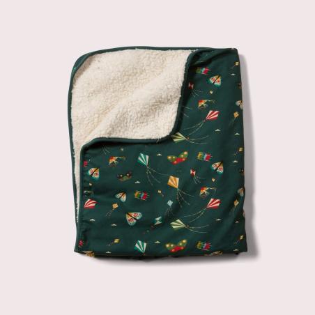 Κουβέρτα Με Χαρταετούς Και Γούνα Little Green Radicals
