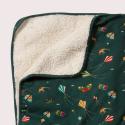 Κουβερτούλες Κουβέρτα Με Χαρταετούς Και Γούνα Little Green Radicals Little Green Radicals