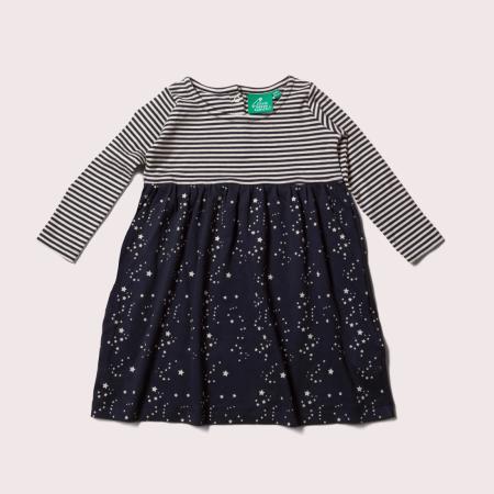 Φορέματα Φόρεμα Με Ρίγες Και Αστεράκια Little Green Radicals Little Green Radicals