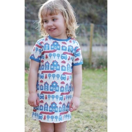 Φόρεμα Με Σπιτάκια Και Γατούλες Sture & Lisa