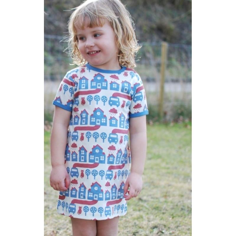Φορέματα Φόρεμα Με Σπιτάκια Και Γατούλες Sture & Lisa Sture & Lisa