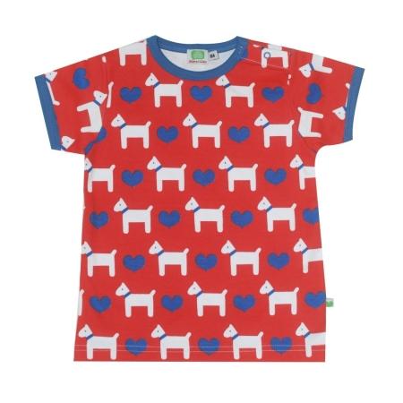 Μπλούζα Με Σκυλάκια Και Καρδούλες Sture & Lisa