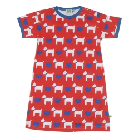Φόρεμα Με Σκυλάκια Και Καρδούλες Sture & Lisa