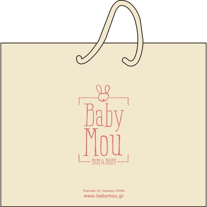 Αρχική Χάρτινη Τσαντούλα BabyMou