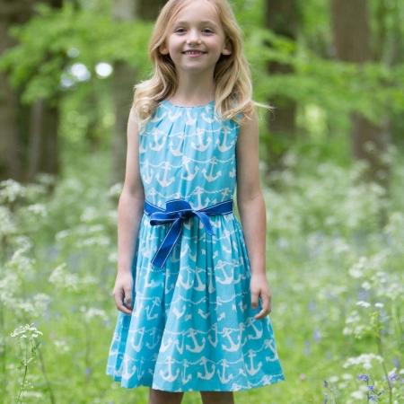 Γαλάζιο Φόρεμα Με Άγκυρες Kite