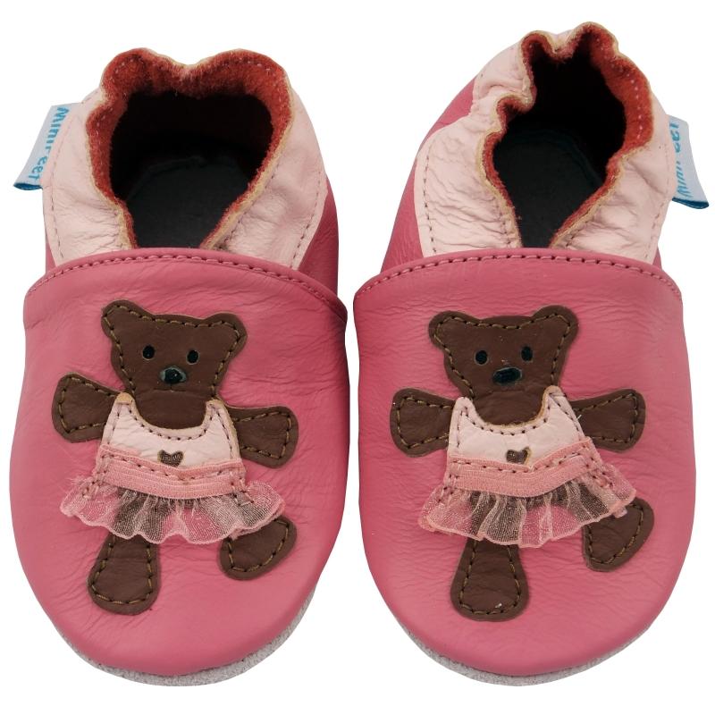 Παπουτσάκια Δερμάτινα Παπουτσάκια Tutu The Teddy Minifeet Minifeet Shoes