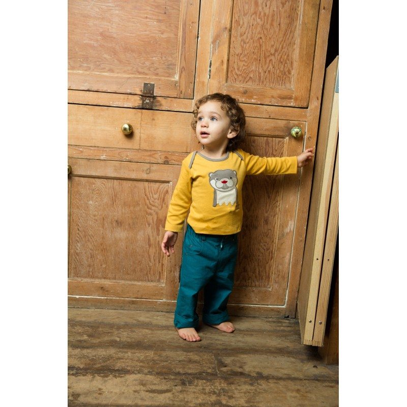Πετρόλ παιδικό παντελόνι Little Green Radicals