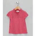 Κοντομάνικα Πλεκτή μπλούζα σε έντονο ροζ από μπαμπού Bamboo baBy Bamboo baBy