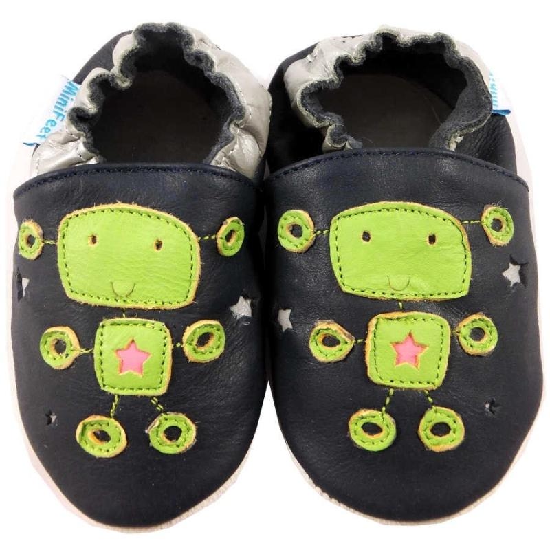 Παπουτσάκια Δερμάτινα Παπουτσάκια Alien Minifeet Minifeet Shoes