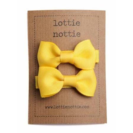 Κίτρινα Φιογκάκια Lottie Nottie