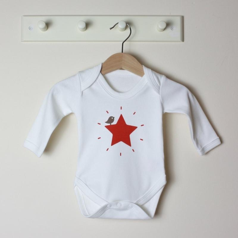 Βρεφικό μακρυμάνικο φορμάκι Red Star Molly & Monty