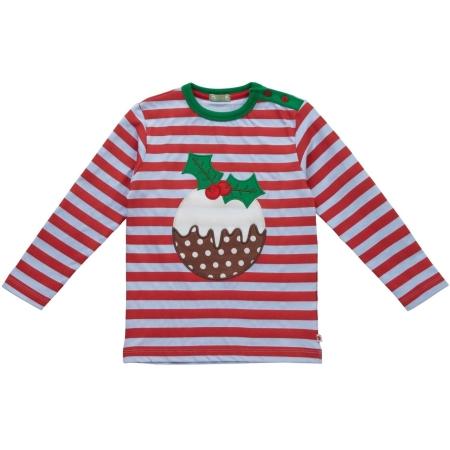 Μακρυμάνικα Μπλούζα Με Χριστουγεννιάτικη Πουτίγκα Piccalilly Piccalilly