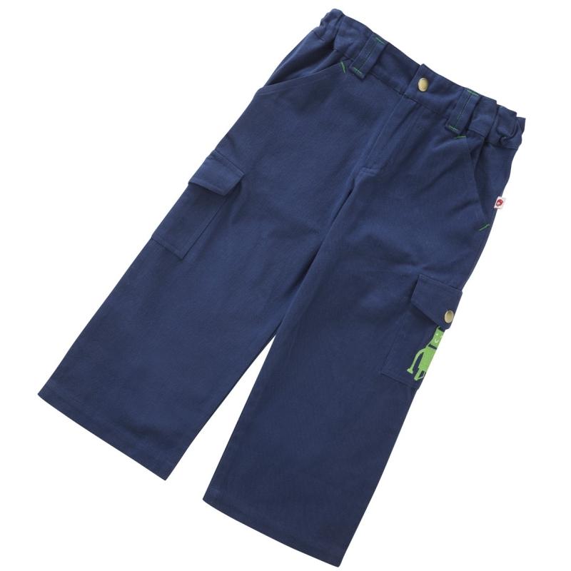 Παντελόνια Μπλε παντελόνι με ρομπότ Piccalilly Piccalilly