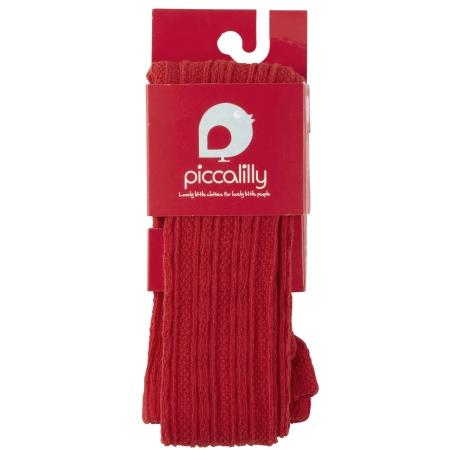 Καλσόν και Kάλτσες Κόκκινο καλσόν Piccalilly Piccalilly
