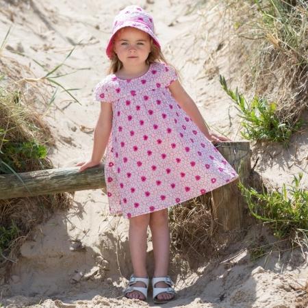 Ροζ Φόρεμα Με Λουλούδια Kite