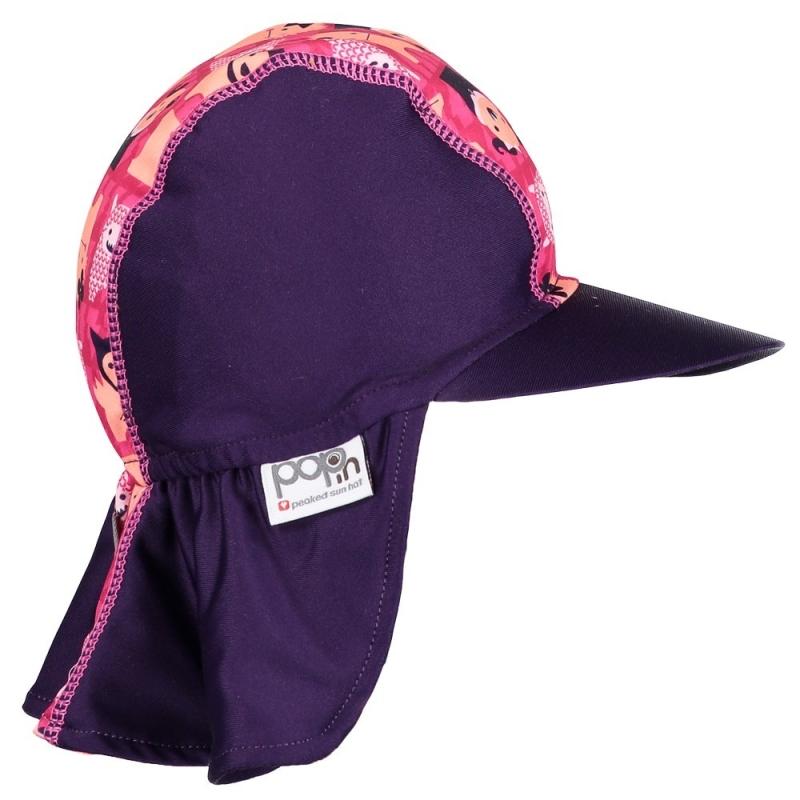 Καπέλο Ηλίου Με Ροζ Τερατάκια Close