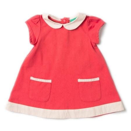 Φορέματα Κόκκινο Φόρεμα Με Γιακαδάκι Little Green Radicals Little Green Radicals