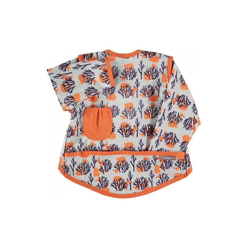 Σαλιάρα-μπλούζα Με Αλεπουδάκια Close