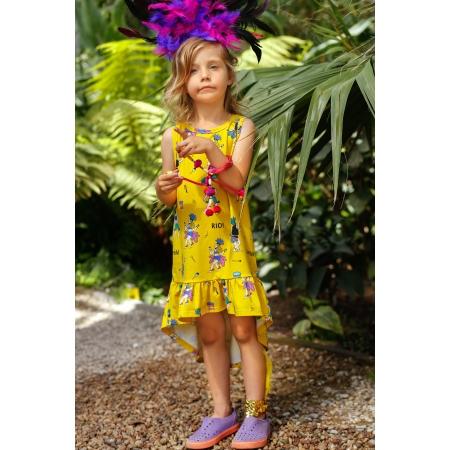 Αμάνικο Φόρεμα Σάμπα Raspberry Republic