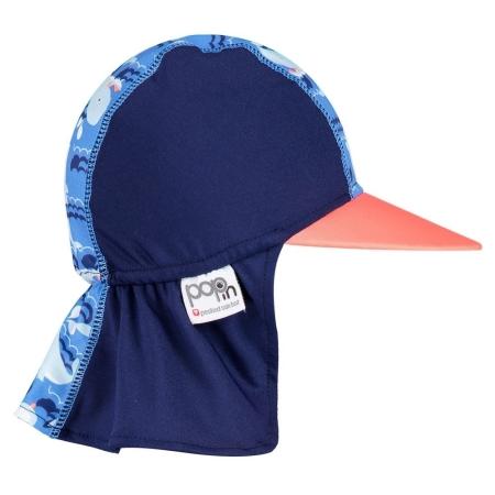 Μαγιώ Καπέλο Ηλίου Με Φάλαινες Close Close