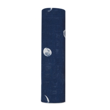 Μπλε Βρεφική Μουσελίνα Από Μπαμπού Με Το Φεγγάρι aden + anais®