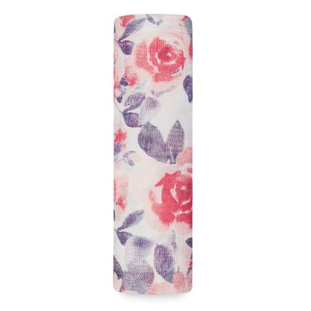 Βρεφική Μουσελίνα Από Μπαμπού Με Τριαντάφυλλα aden + anais®