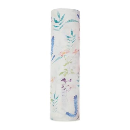 Μουσελίνες (swaddles) Βρεφική Μουσελίνα Από Μπαμπού Με Λουλούδια aden + anais® aden + anais®