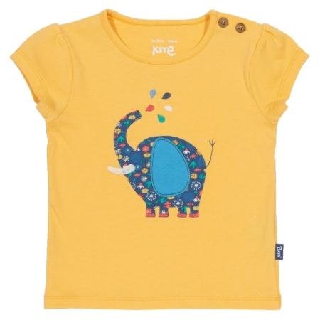 Κίτρινη Μπλούζα Με Ελεφαντάκι Kite